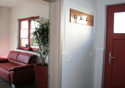 Gartenlounge Eingangsbereich