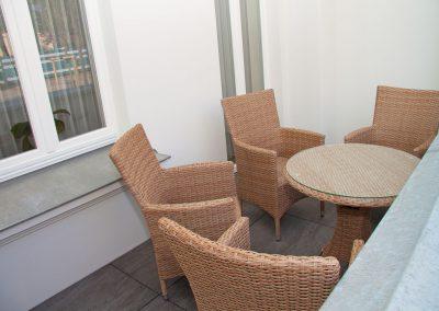 Villa_Glueckspilz_Kuehlungsborn_Meeresrauschen_Balkon